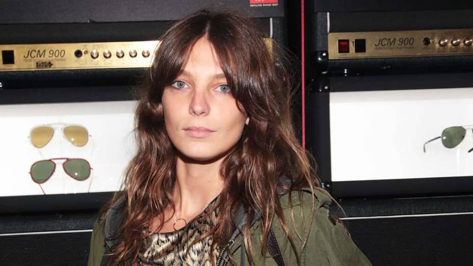 6º lugar - Modelo Daria Werbowy