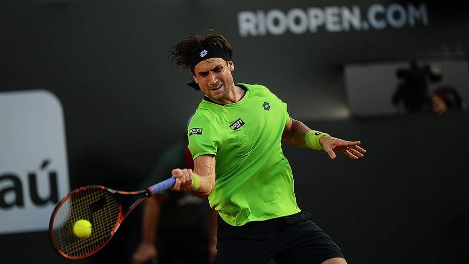 David Ferrer no Rio Open 2014