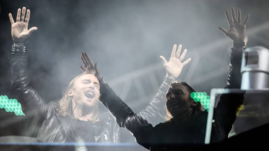 David Guetta no primeiro dia do Rock in Rio 2013