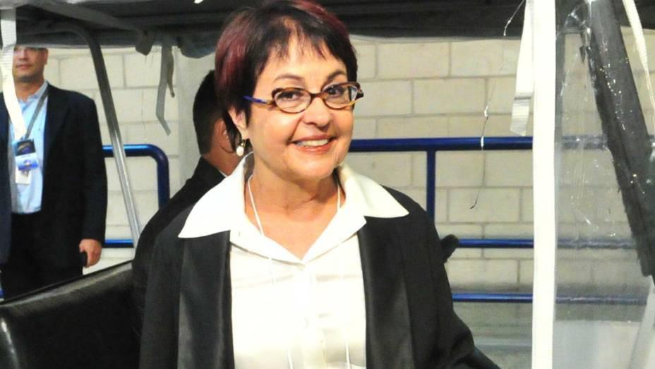 Debate no Rio: Aspásia Camargo chega ao Projac