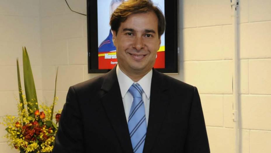 Debate no Rio: Rodrigo Maia chega ao Projac