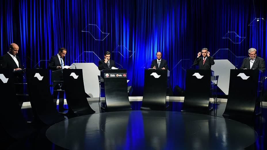 Debate para governador promovido por SBT, Folha de S. Paulo, UOL e rádio Jovem Pan