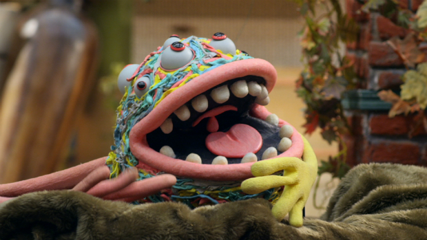Dedé, um dos monstros da próxima série Que Monstro Te Mordeu?, de Cao Hamburger e Teodoro Poppovic, da TV Cultura