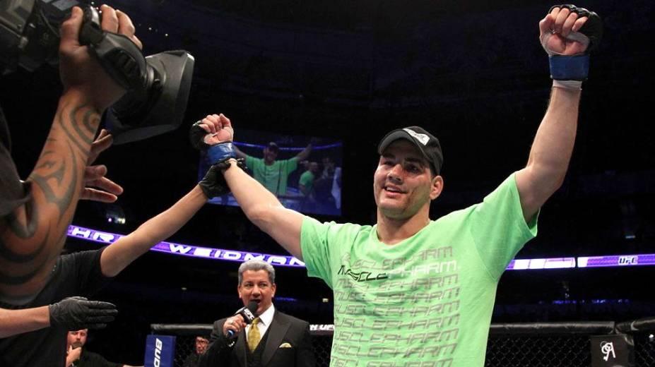 Chris Weidman, desafiante de Anderson Silva pelo título dos médios do UFC