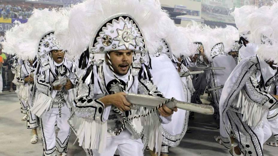 Desfile da Unidos da Tijuca, no Rio de Janeiro