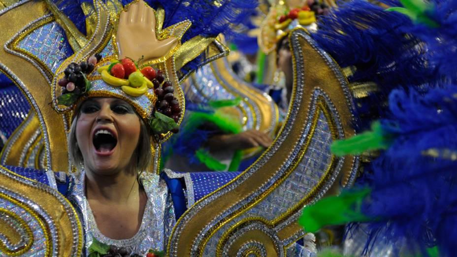 Desfile da Tom Maior, em São Paulo