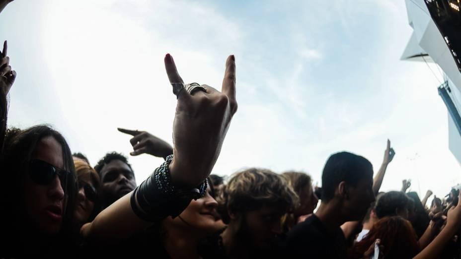 Show da banda Destruction e Krisiun, no Rock in Rio 2013