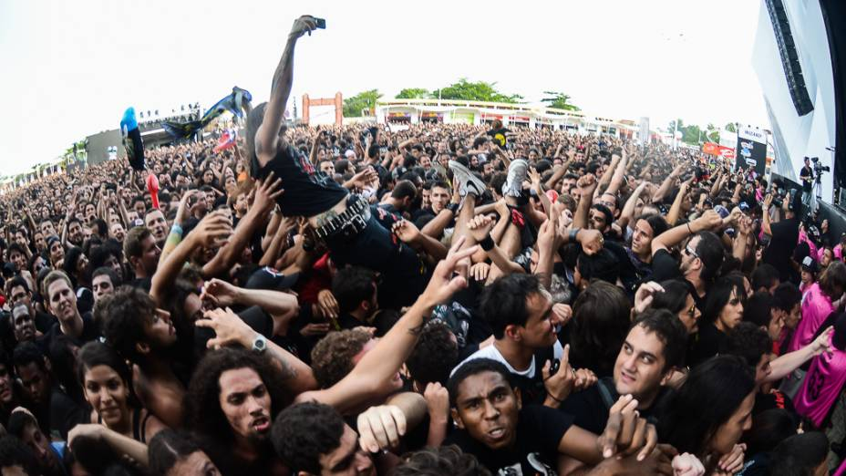 Show da banda Destruction e Krisiun, no Rock in Rio 2013