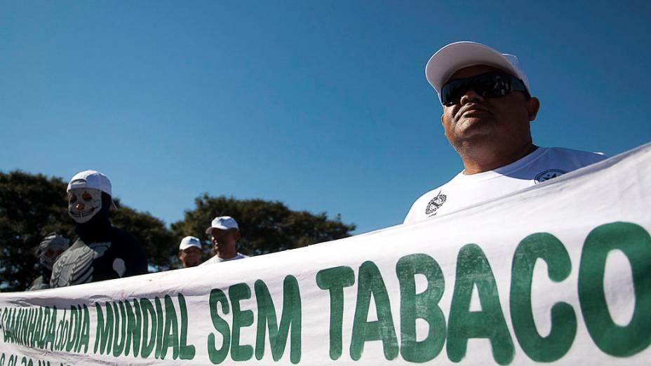 Dia Mundial sem Tabaco é comemorado no Distrito Federal com caminhada, palestra e exames no Parque da Cidade, organizada pela Polícia Civil do DF em parceria com outros órgãos públicos