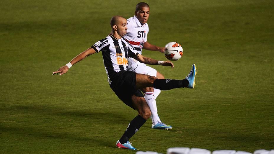 Diego Tardelli do Atlético Mineiro (MG) no jogo de ida das oitavas de final da Taça Libertadores da América no Morumbi