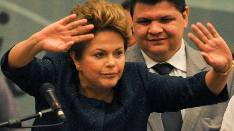 A presidente Dilma Rousseff, durante a 3ª Conferência Nacional dos Direitos da Pessoa com Deficiência, em Brasília