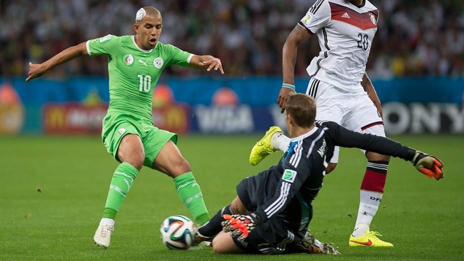 Lance no jogo entre Alemanha e Argélia no Beira-Rio, em Porto Alegre