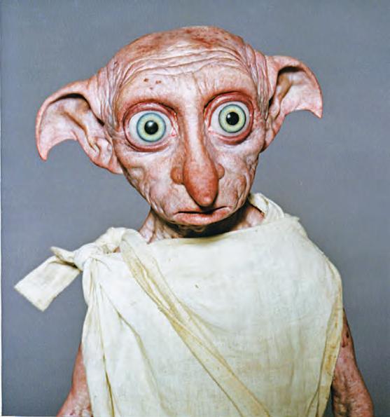 Modelo do elfo doméstico Dobby para Harry Potter e a Câmara Secreta (2002)
