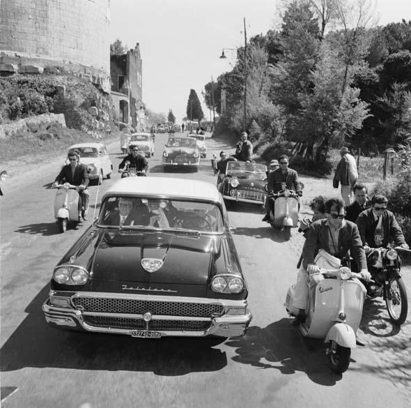 Cena de <em>A Doce Vida</em>, de Federico Fellini