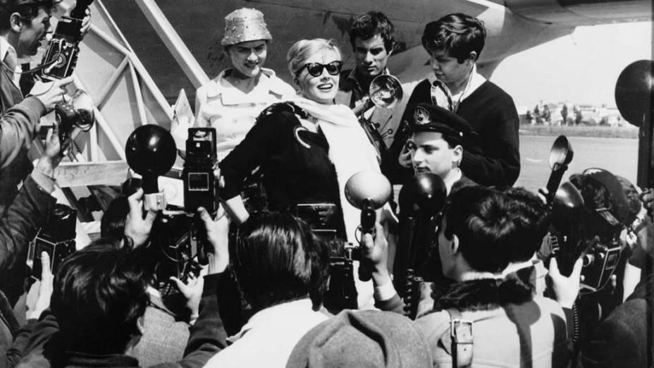 Anita Ekberg em <em>A Doce Vida</em>, de Federico Fellini