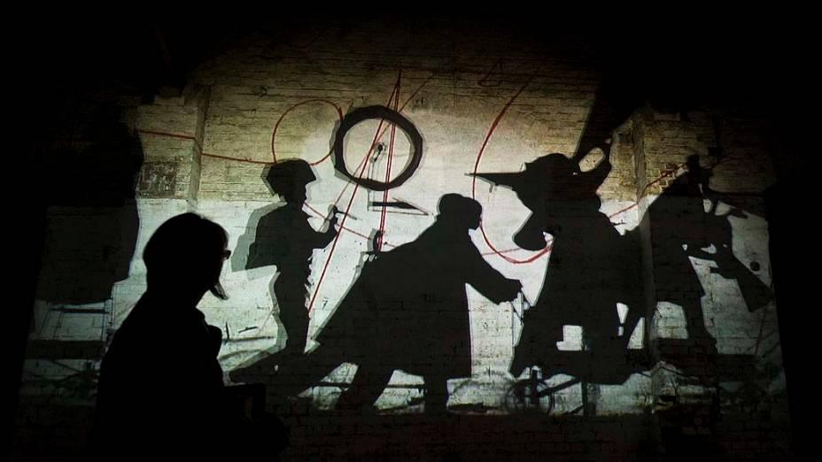 """Obra """"The Refusal of Time do artista William Kentridge, na exposição """"dOCUMENTA (13)"""" em Kassel, Alemanha"""
