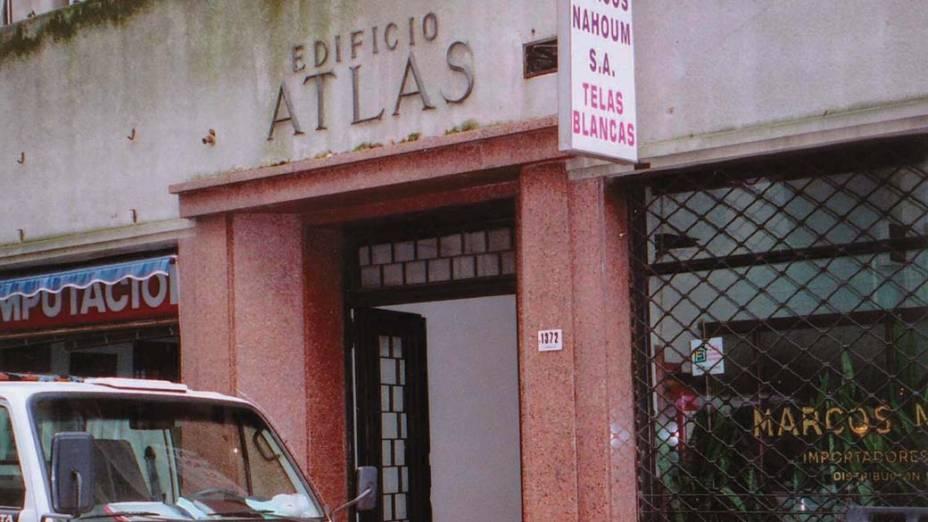 Edifício Atlas, onde funcionava a empresa Eagle International, cujo procurador ordenou o saque do dinheiro usado por Fernando e Leopoldo Collor de Mello na compra do Dossiê Cayman, sobre a suposta conta bancária mantida nas Bahamas por políticos do PSDB