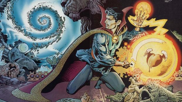 Doutor Estranho na história em quadrinho da Marvel