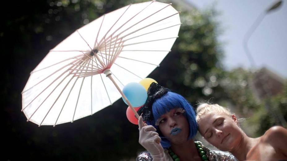 Parada Gay na cidade de Tel Aviv, Israel
