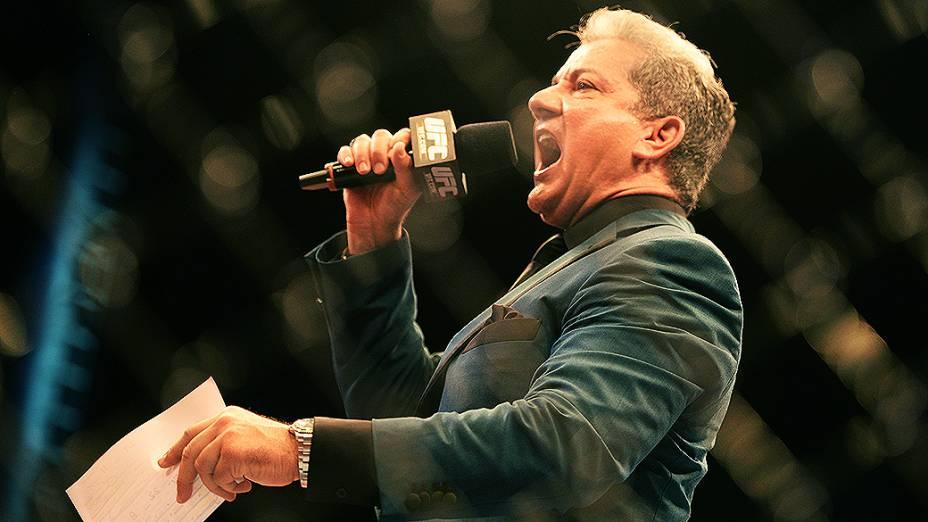 UFC Fight Night em Natal: Bruce Buffer anuncia uma das lutas