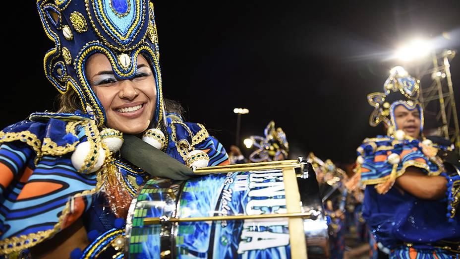 Vila Maria abre o segundo dia dos desfiles do Grupo Especial, no Sambódromo do Anhembi