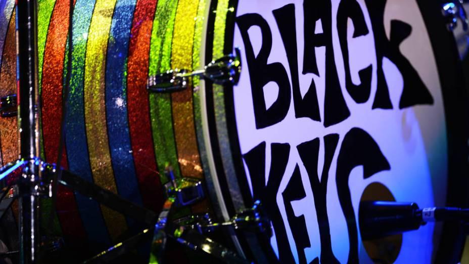 Apresentação do The Black Keys no segundo dia do Lollapalooza