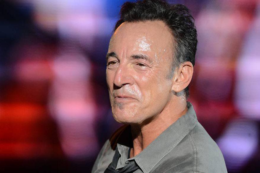 Bruce Springsteen durante show no Rock in Rio 2013