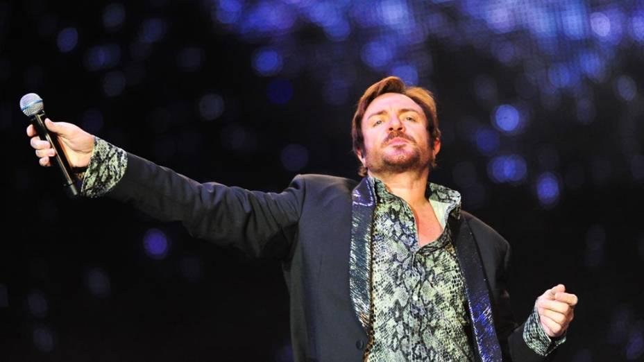 Duran Duran durante show no palco Energia & Consciência, no segundo dia do festival SWU em Paulínia, em 13/11/2011