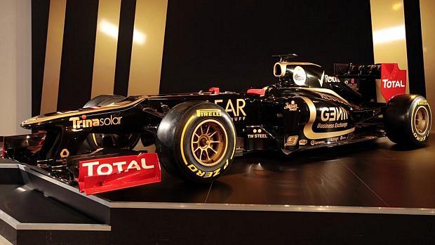 E20, carro da Lotus para temporada 2012