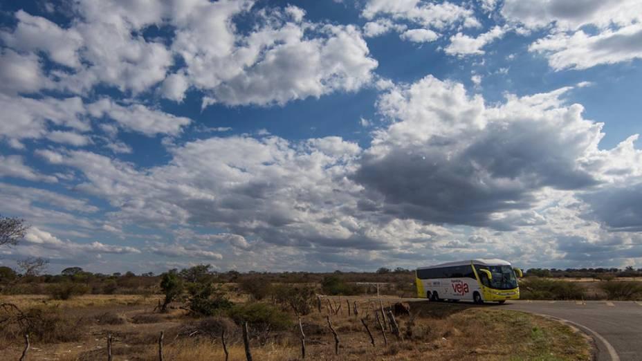 Expedição Veja passa pela Chapada Diamantina rumo à cidade de Janaúba (MG)
