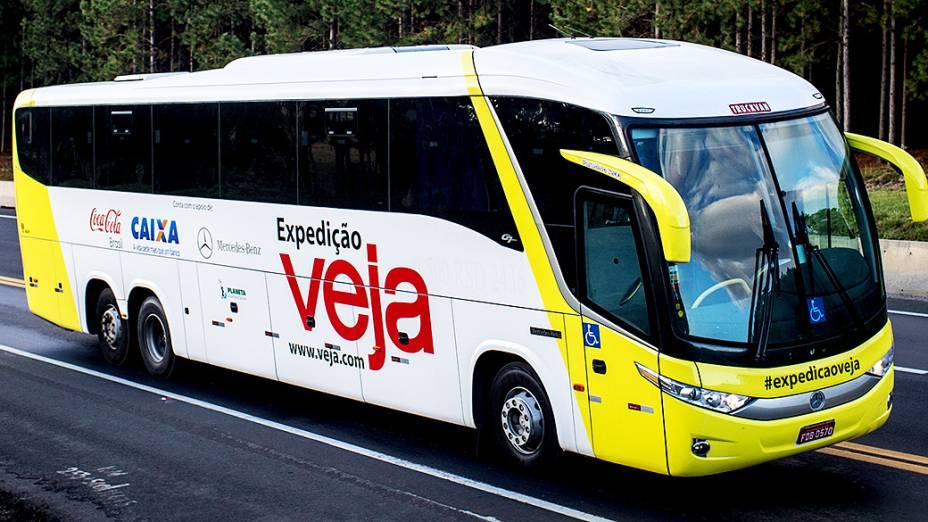 Expedicao Veja pelo Brasil rumo a Não-me-toque/RS