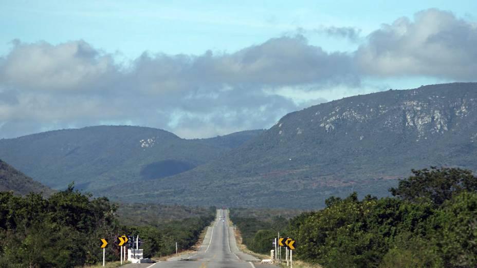 Trecho da Chapada Diamantina, no noroeste da Bahia