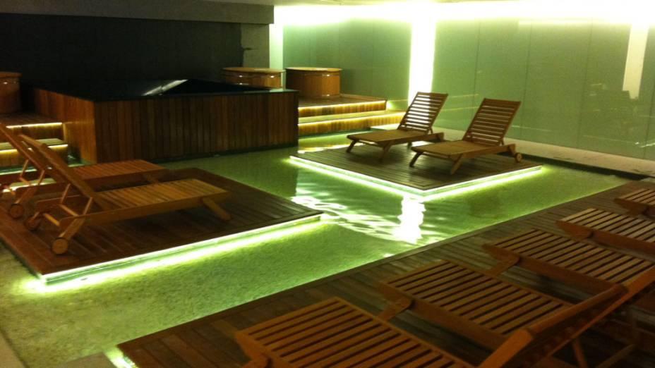 Lounge aquático unidade Eldorado Academias Bodytech