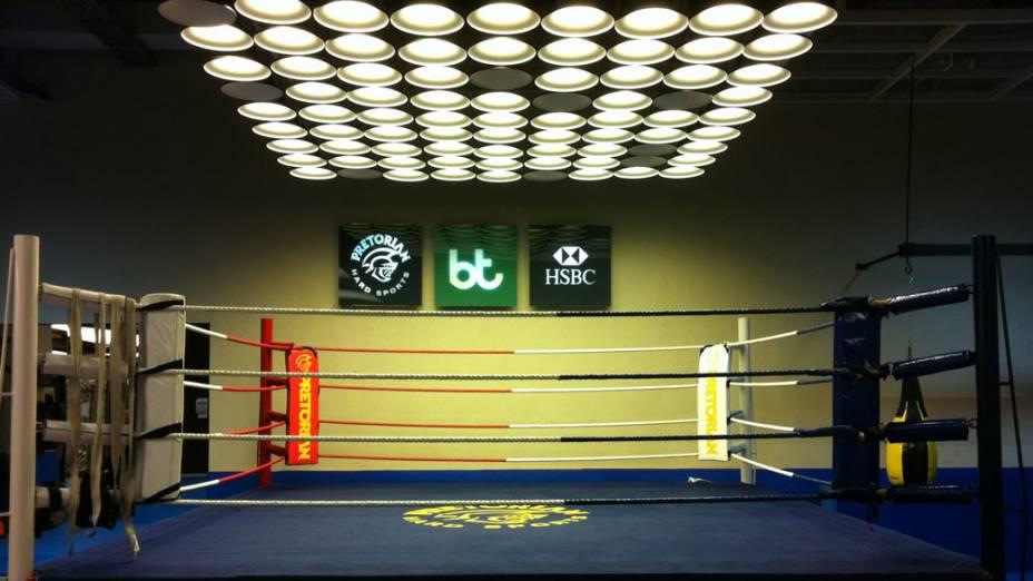 Ring de boxe Academia Bodytech unidade Shopping Eldorado