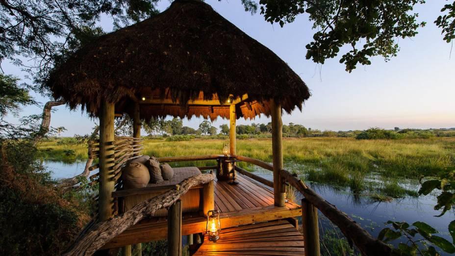Mombo Camp, em Botsuana, foi escolhido o melhor hotel do mundo pela Travel + Leisure