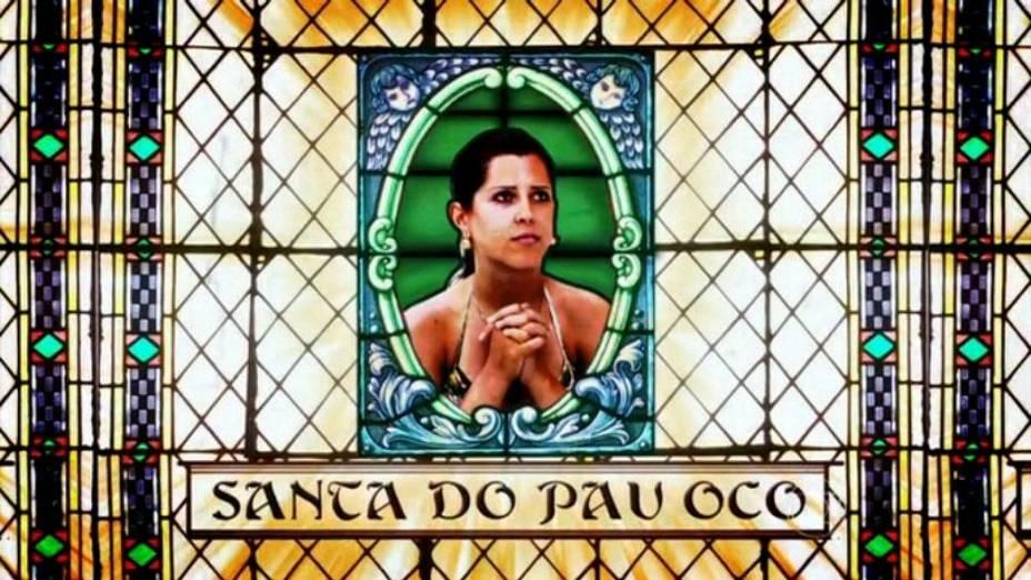 Edição do BBB13 desfaz imagem de santa de Andressa