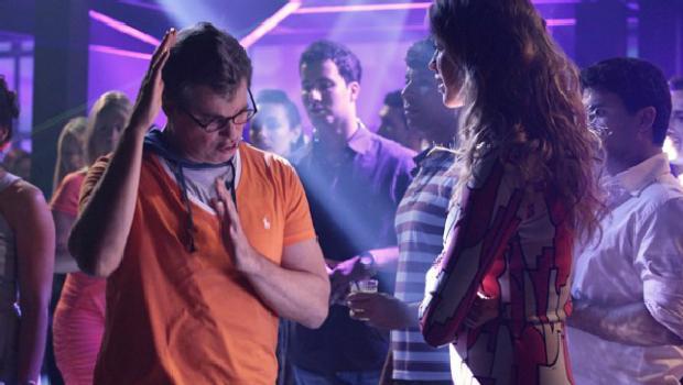 Edson Celulari e Luana Piovani em cena de Guerra dos Sexos