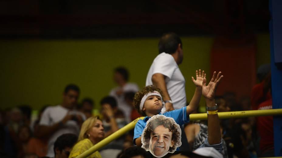 Público na Final do Brasil Open, no Ginásio do Ibirapuera