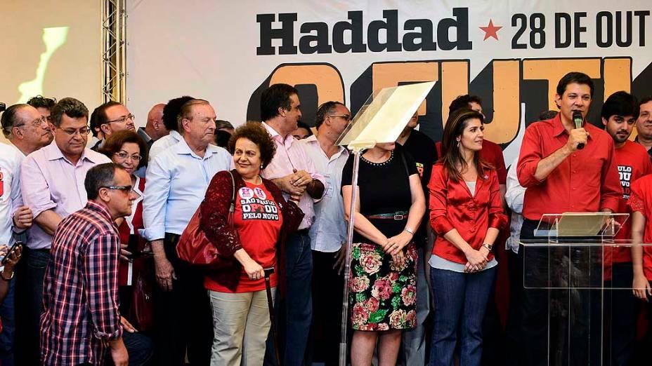 Fernando Haddad (PT) é o novo prefeito de São Paulo