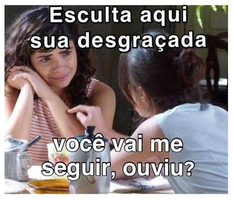 Eliane e Cora, da novela Império, da Globo