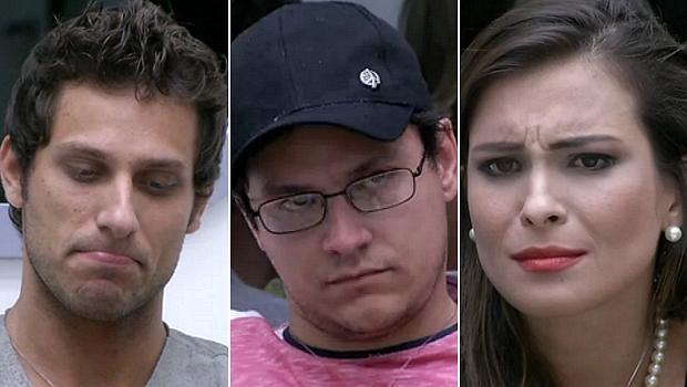 Elieser, Ivan e Kamilla estão no paredão do BBB 13