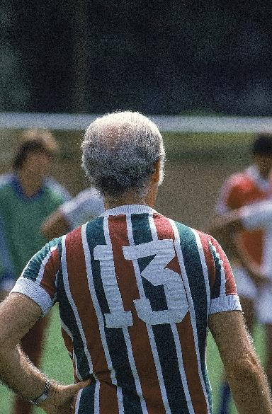 Em 1980, com a camisa número 13 do Fluminense