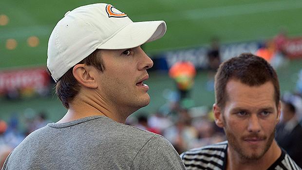Ashton Kutcher no Maracanã