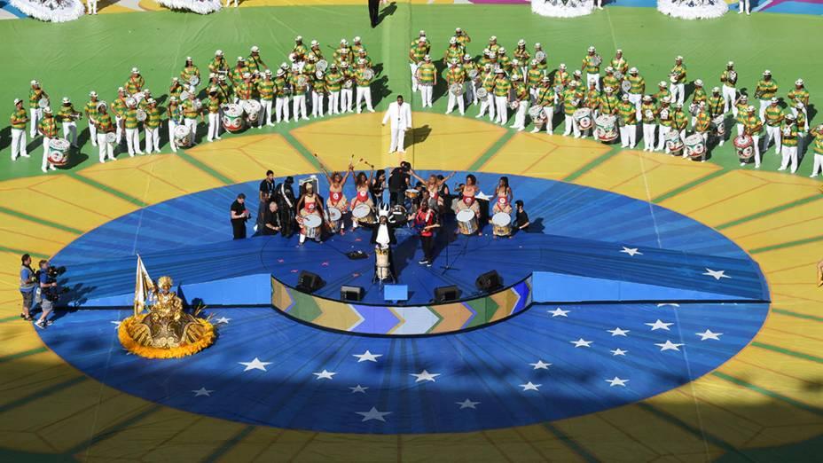 Festa de encerramento da Copa do Mundo no Maracanã
