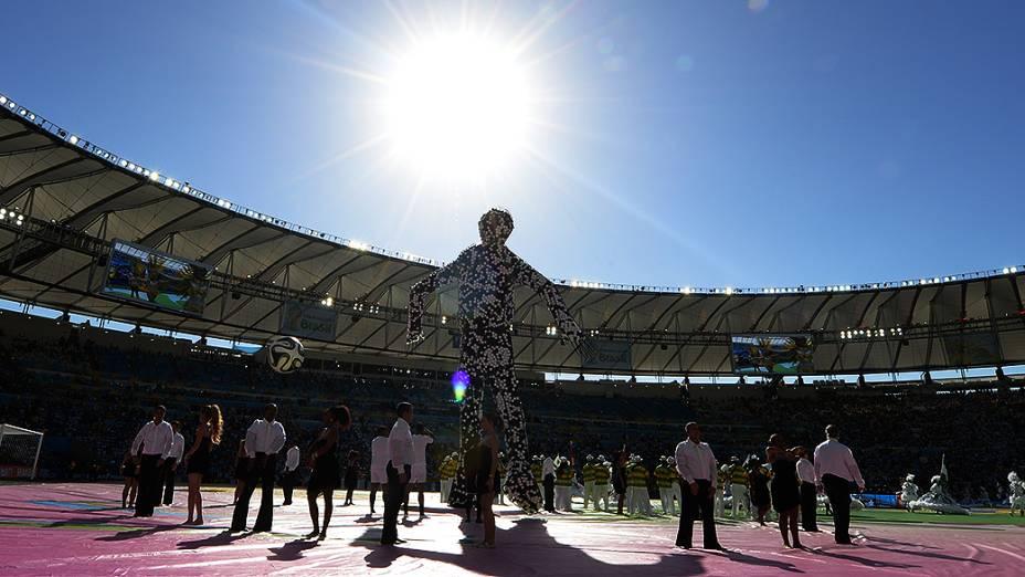 Cerimônia de encerramento da Copa do Mundo no Maracanã, no Rio