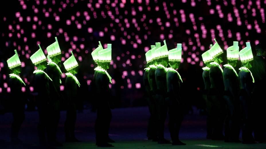Apresentação brasileira no encerramento dos Jogos Olímpicos de Londres 2012