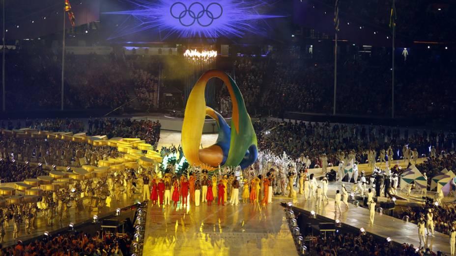 Festa de encerramento dos Jogos Olímpicos de Londres