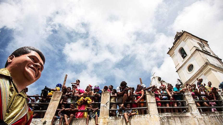 Tradicional Bonecos Gigantes de Olinda, desfilam há 26 anos na cidade