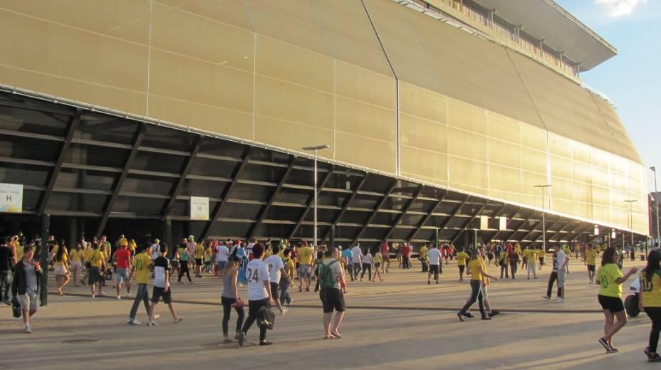 Entrada da Arena Pantanal, em Cuiabá