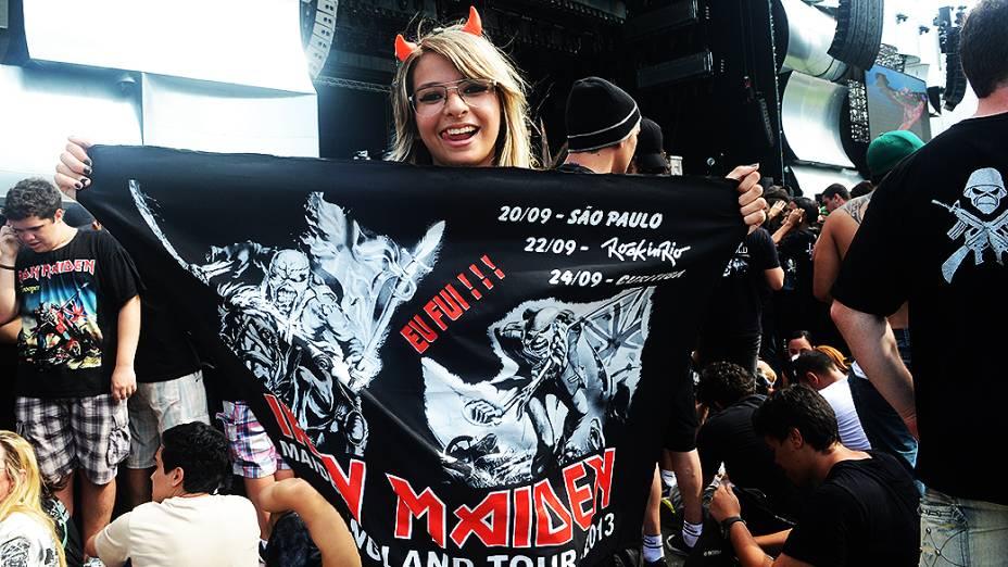 Público no último dia de Rock in Rio 2013